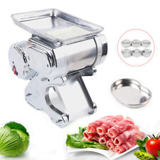 55kg 550w Commercial Stainless Meat Slicer Machine 17mm Electric Food Cutter