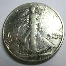 1943-D Walking Liberty Half Dollar - High Grade Silver Coin