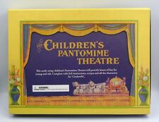 NEW VINTAGE STYLE CHILDREN'S PANTOMIME THEATRE 3 CARD STAGES SCRIPTS CINDERELLA