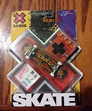 X GAMES TECH DECK FINGERBOARD RARE 2009 96MM THE STAMPED EXTREME LOGO TECH DECK