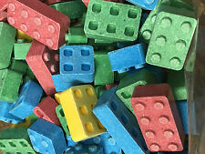 Edible Candy Building BLOX Blocks - 2lbs - They Really Work! Bulk SHIPS FREE