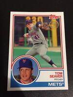 TOM SEAVER 2018 Topps New Era Promo SSP VARIATION 1983 New York Mets