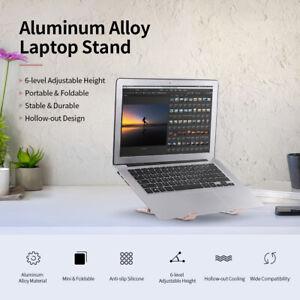 Adjustable Laptop Stand Folding Tablet Bracket Mount Portable Holder Notebook