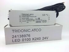 TRIDONIC.ATCO 24138976 Constant Voltage Converter LED 0100 K240 24V 4.2A 100VA