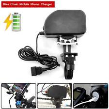 Bike Bicycle Chain Charger Power Generator Mobile Phone to USB - Dynamo, 3600mAh