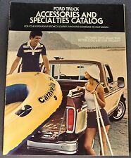 1978 Ford Truck Accessories Brochure Pickup Bronco Ranchero Econoline Club Wagon