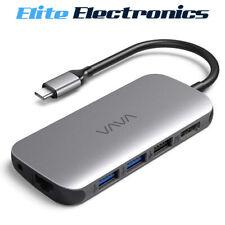 VAVA 9-in-1 Adapter Hub 4K USB-C to HDMI Ethernet Port VA-UC016