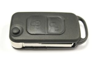 RFC 2 button flip key case for Mercedes SLK R170 1997 - 2004