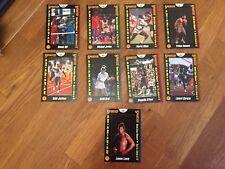 RARE Set of 9 SPORTED MAGAZINE cards : Michael Jordan  Shaq O`Neal Lennox Lewis