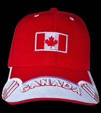 Canada Canadian Maple Leaf Flag Baseball Cap Hat  Casquettes Chapeau
