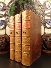 1793 Works of William Hogarth Satire Illustrated +John Ireland Commentary 3v SET