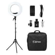 "18"" Led Ring Light Kit w/ 78"" Stand Dimmable 5500K for Camera Makeup Phone"
