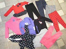NEW LOT 11 BABY GIRL CLOTHING 18 MONTHS CARTERS  MISC PANTS TOPS  FREE SHIP