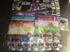 Here to Slay Ultimate Collectors Set + Unstable Unicorns Leader Card Kickstarter