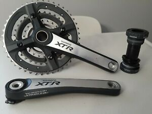 MARIN 6061 Cold Forged 44//32//22T 175mm Crankset Silver