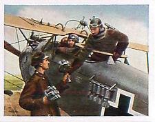 German Aircraft fighter bomber Grenade Deutsches Heer WWI WELTKRIEG 14/18 CHROMO
