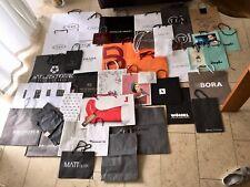 45 Designer Papiertüten Tragetaschen TOD's, PRADA, MARC CAIN uvm.