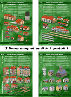 Offre groupée N : 3 livres maquettes + 1 gratuit !