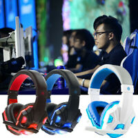 Gaming Headset Mic Headphones Stereo Surround for PS3 PS4 Xbox ONE 360 PC
