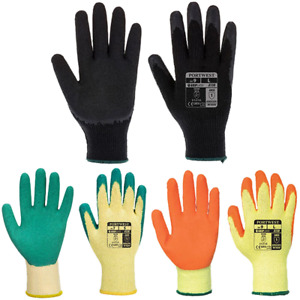 Portwest A150 - Classic Grip Work Safety Gloves Latex - 12 Pack