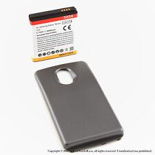 3800mAh Extended Battery for Samsung Galaxy Nexus i515 Verizon Black Cover