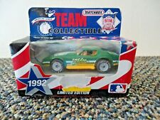 "Vtg "" No 00006000 S "" 1992 Matchbox Team Collectible Oakland Athletics Car "" Great Item """