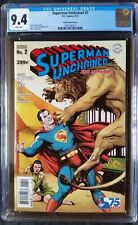 Superman Unchained (2013 DC) #2 Frank Golden Age Variant CGC 9.4 1:75