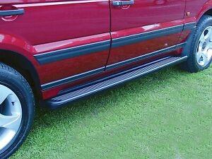 Land Rover Range Rover P38 1995-2002 Britpart Brand Rubber Running Boards New
