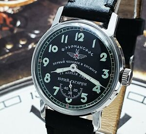 Watch Sturmanskie Vintage Soviet Mechanical WristWatch 2602 Yuri Gagarin USSR