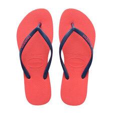Sandali e scarpe arancione Havaianas per il mare da donna