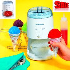 Electric Snow Cone Ice Mixed Drinks Maker Crusher Shaver Machine Hamilton Beach