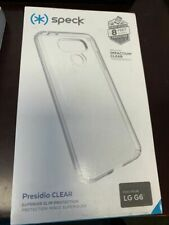 SPECK PRESIDIO CLEAR  PHONE CASE FOR LG G6 BRAND NEW