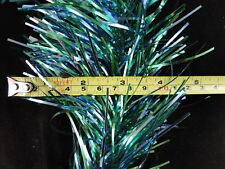 64 Feet Christmas Tree Garland Tinsel Green & Blue Enough For A Tree