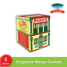 Raintree Mango Fruit-Filled Cookies (5 pieces)