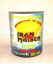 IRON MAIDEN MONSTERS OF ROCK CASTLE DONINGTON 1988 MUG
