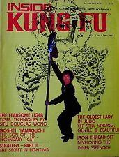 5/76 INSIDE KUNG FU DOUGLAS WONG GOSHEI YAMAGUCHI BLACK BELT KARATE MARTIAL ARTS