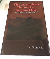 The Armchair Detective Series One by Ian Shimwell (2013 Hardcover) Signed
