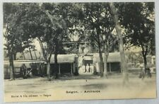 early 1900s Antique Postcard Saigon Vietnam Amiraute