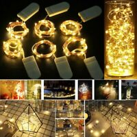 Lots 10ft. 30 LEDs Battery Operated Mini LED Copper Wire String Fairy Lights