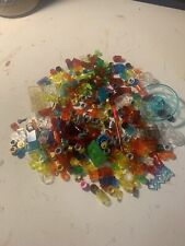 Lego Lot of 200+ Assorted Trans Red Green Clear Yellow Orange Small Pieces Mix
