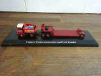 Carters Foden Generator and Low Loader on plinth