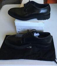 Emporio Armani (X4C085) Men's Black Lace-Up Shoes Size 9M - NEW OTHER