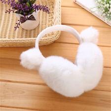 Fashion Winter Warm Women's Ears Rabbit Fur Earmuffs Women Warm Ear Cover