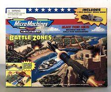 1998 Galoob Micro Machines Military Battle Zones Black Tiger Delta NEW!