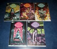 THERE'S NOTHING THERE #1 2 3 4 5 1st print complete set BLACKMASK COMIC 2017 NM