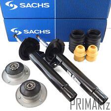 2x Sachs Shock Absorber 317541 317542 + Dust Sleeve Strut Mount Front BMW 3er