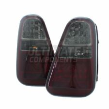 BMW Mini Cooper S R53 2004-2006 LED Red & Smoked Rear Tail Lights Lamps 1 Pair