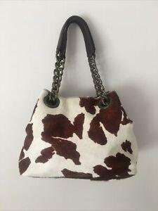 Russell & Bromley Tote Grab Bag Small Tote Grab Bag Bucket Chain Handle Designer