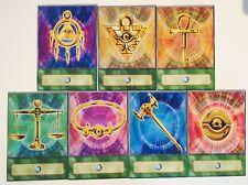 Yugioh Orica/Anime Millennium objets 7 cartes