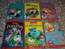 6 MC WALT DISNEY ORIGINAL HÖRSPIEL ZUM FILM ARIELLE 3 X KIM POSSIBLE TIGGERS PAN